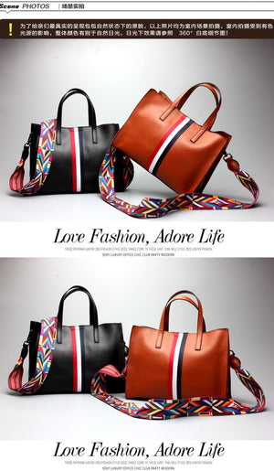 Genuine leather women handbag spring female shoulder bag fashion. 4 Color Choice