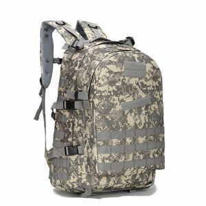 Camouflage Camo multi-function 40L Waterproof men's backpack school bag male tra