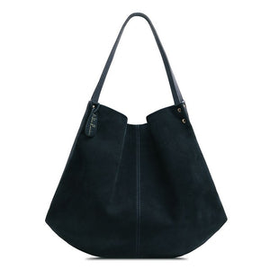 Nico Louise Women's Split Suede Leather Hobo Bag Purse Designer Female