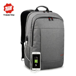 Tigernu Anti-thief USB bagpack 15.6inch laptop backpack for men and women US
