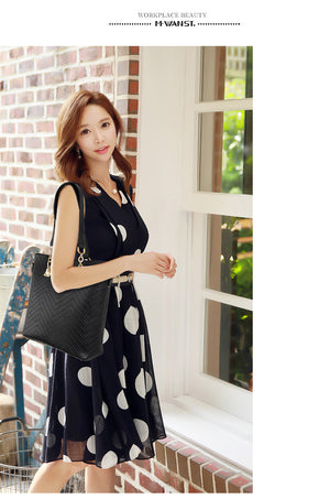 6 Pcs/set Composite Bags Set Women's Shoulder Crossbody Bag Female Purse