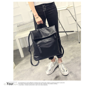 Women's Casual Genuine Leather backpack bag high quality for Girls Ladies. COLOR