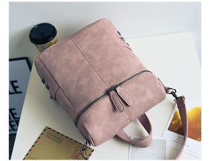Women's PU Leather Shoulder Bag for Teenage Girls Fashion Vintage. 4 Colors