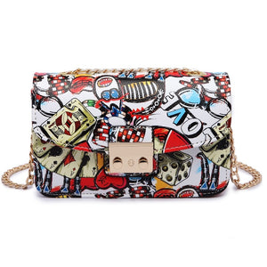 Women's Graffiti Designer Handbag
