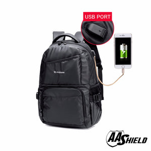 AA Shield Ballistic Travel Backpack Body Armor Safe School Bag NIJ Level IIIA