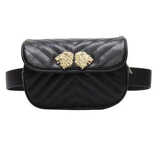 Women's Waist Bag Brand Designer Waist Pack Fanny Pack Retro