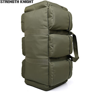 90L Large Capacity Men's Military Tactics Travel Backpack Multifunction Oxford