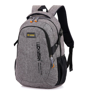 Men's Women's Backpack School Bag Canvas Bags Laptop Backpack Computer Bag High