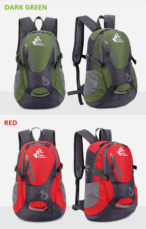 30L Water Resistant Backpack Camping Hiking Bag Outdoor Bag Men Women Sports Bag