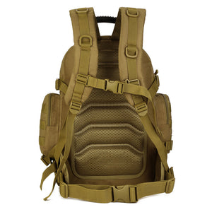 Large Tactical Waterproof Backpack 40L Special Hiking Tactical Gear MOLLE Remova
