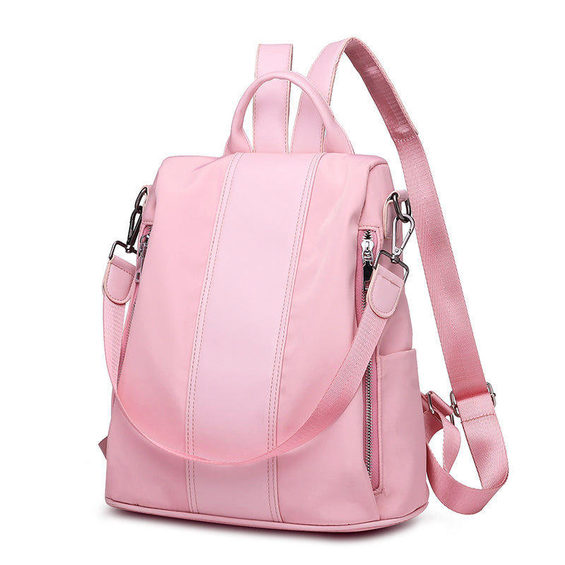 346f1e712ce Women Teenage Black Pink Gray Shoulder Backpack High Quality Bag Bagpack  Bookbag