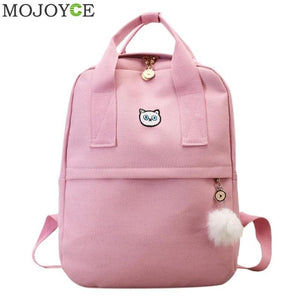 Mojoyce Girls Stylish Canvas School Bag