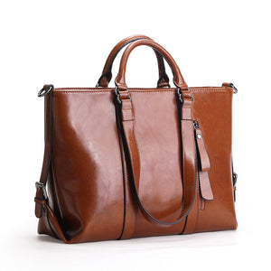Women's Leather Handbag  Messenger Bag Shoulder bags Woman Tote - 4 Colors