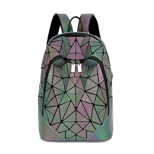 Women's Backpack Geometric Luminous Backpack Bag