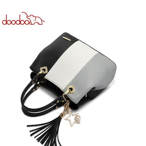 Women's Pu Leather Handbag Tote Bag Female Shoulder Crossbody Bag