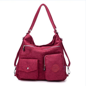 Women's Bag Double Shoulder Bag Backpack Style Designer Handbag. 11 COLORS