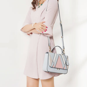 Women's Ladies Fashion Bag Female Shoulder Crossbody  Artificial Leather Geometr