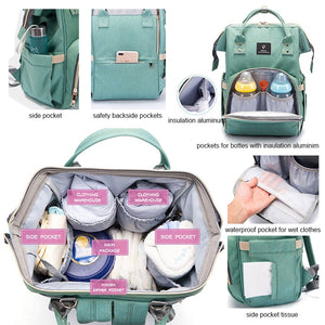 New Fashion Mommy Maternity Baby Backpack Diaper Bag Stroller COLORS