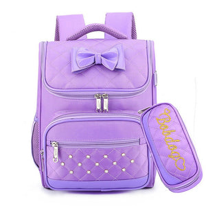 Girls First backpack School for Kids Satchel School Bags For Kindergarten
