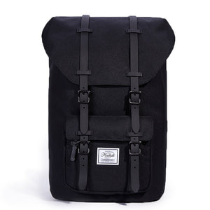 Men's Hipster Style Leather Backpack