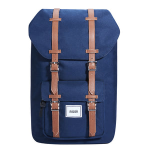 Men's Backpack Travel Bag Leather Casual Men Backpacks