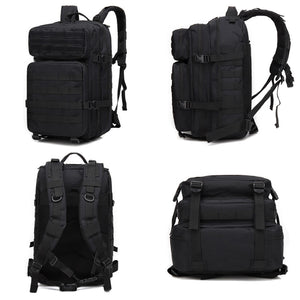 Men's Outdoor Tactical Flag Backpack Military Rucksack Bag