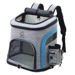 Dog Bag Breathable Dog Cat Pet Backpack Carrying Bag Portable Outdoor Travel Pet