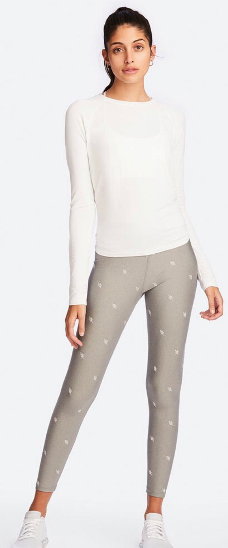 Alala Laurel Embroidered Tight