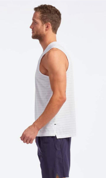 Rhone Swift Tank - White