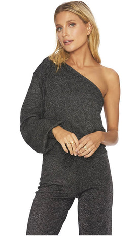 BeachRiot Becca Top Black Sparkle
