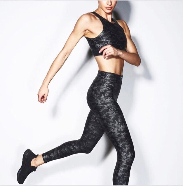 Heroine Icon Leggings - Chrome Camo