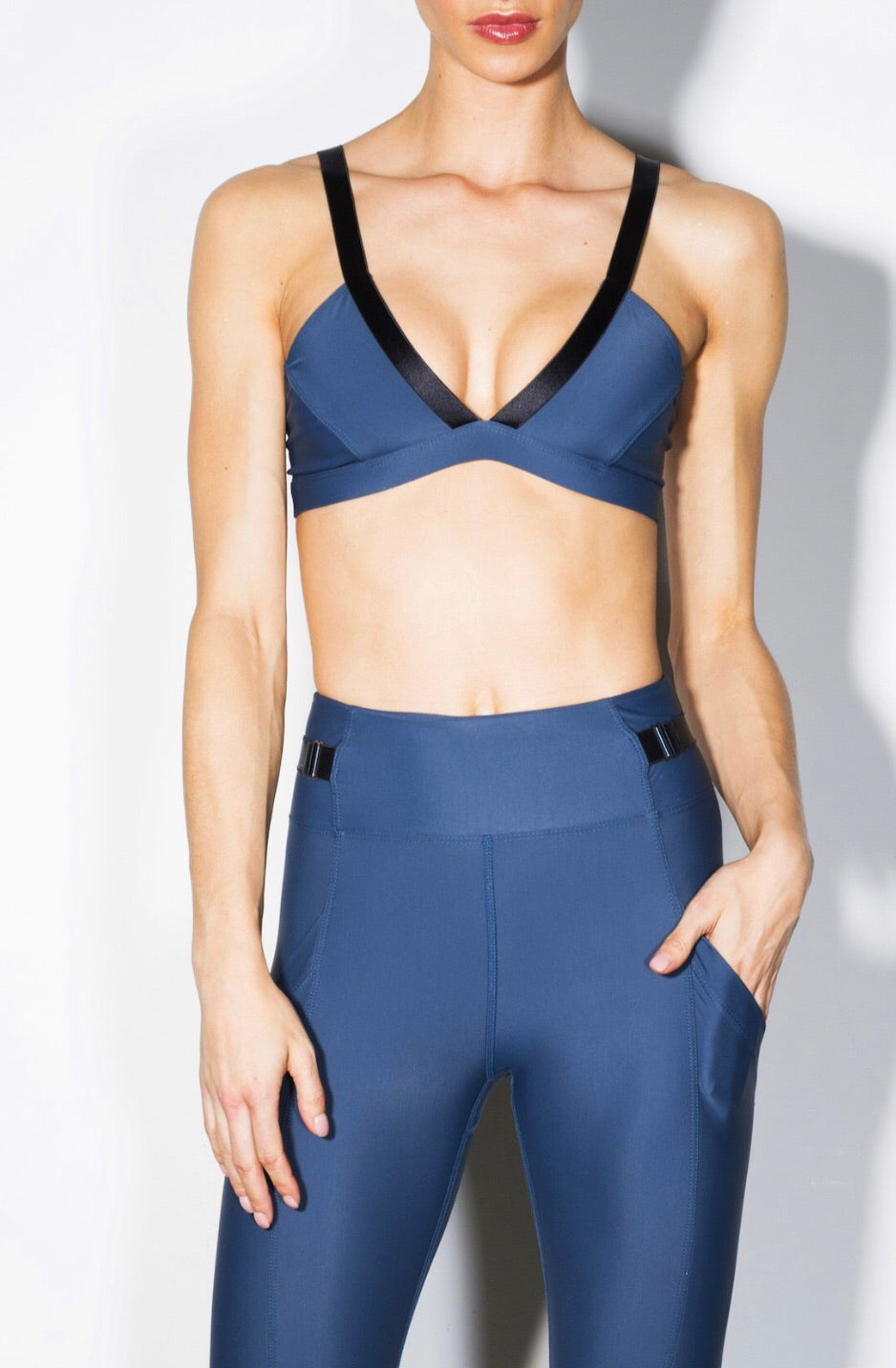 Heroine One47 Sports Bra - Arctic Blue
