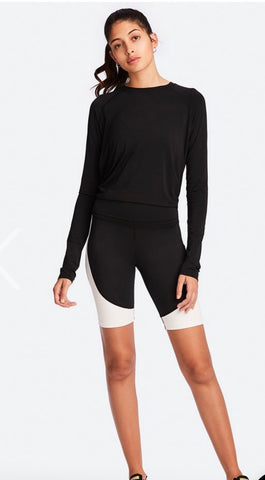Alala Tie Back Long Sleeve - Black