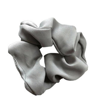 Headbands of Hope - Scrunchie - grey solid