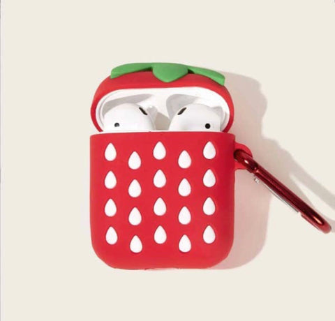 Strawberry AirPod case