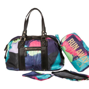 Print Asana Atheisure Tote with Shoe Bag and 2 piece Wet/Dry Bag Set