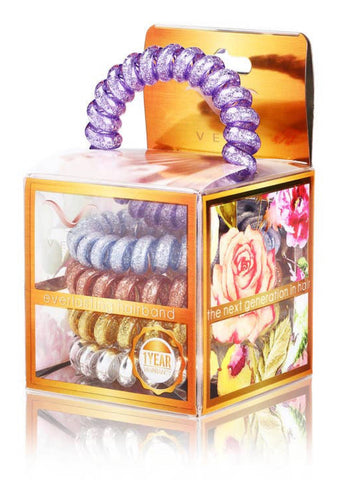 Serenity Hair Tie and Bracelet - 5 Pack