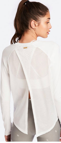 Alala Tie Back Long Sleeve - White
