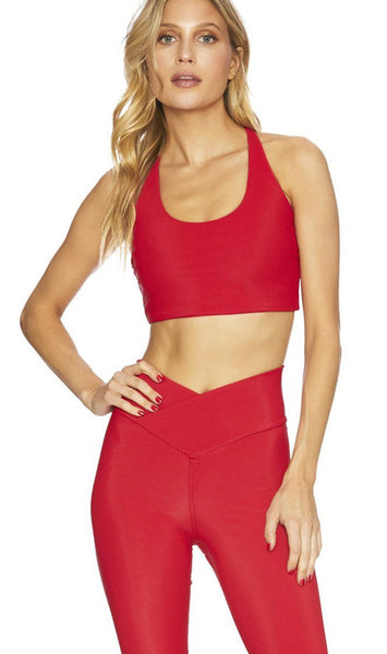 BeachRiot Ribbed Rocky Top - Red