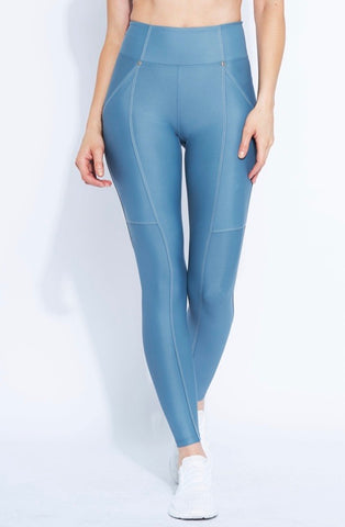 Heroine Allure Leggings - Powder Blue