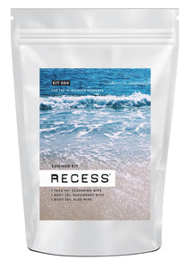 Recess Summer Kit Wipes (pack of 3)