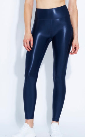 Heroine Barre Legging - Satin Navy