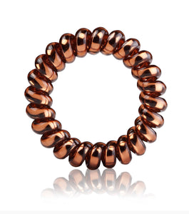 Bronze Pure Metal Single Hair Tie and Bracelet