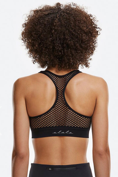 Alala Essential Seamless Bra - Black