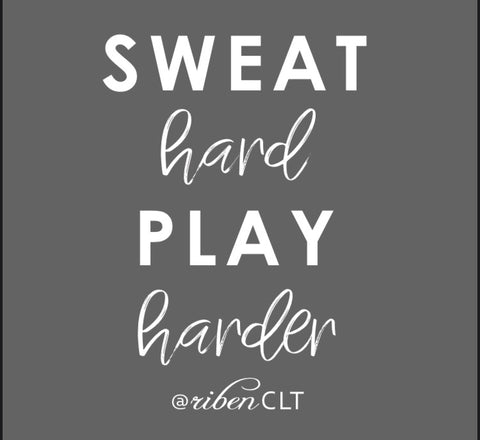Sweat Hard tanks