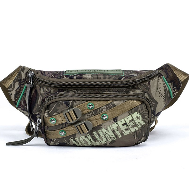 6664d02dfb Waterproof Oxford Fanny Pack Hip Bum Bel Bags Travel Shoulder Messenger Bag  Men s Military Assaul Sling