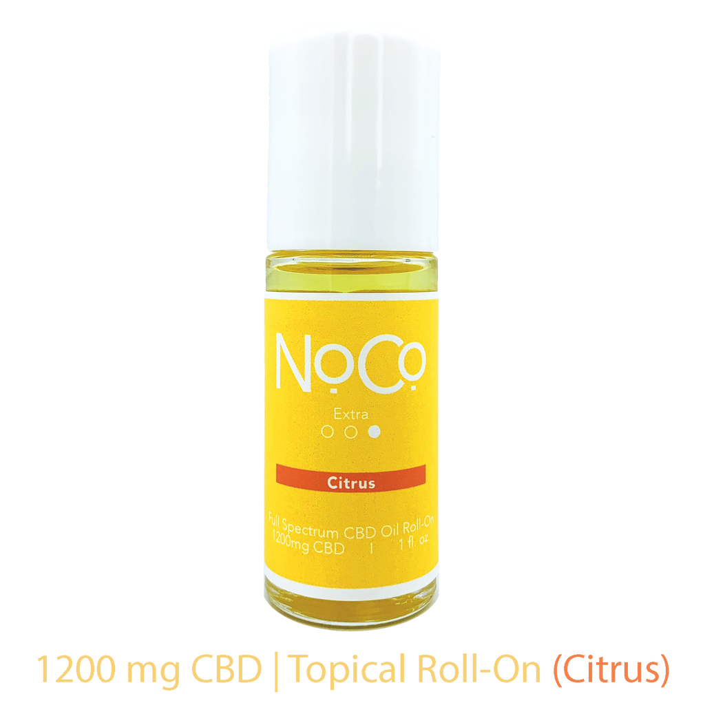 NoCo Extra Strength Roll-On | Citrus