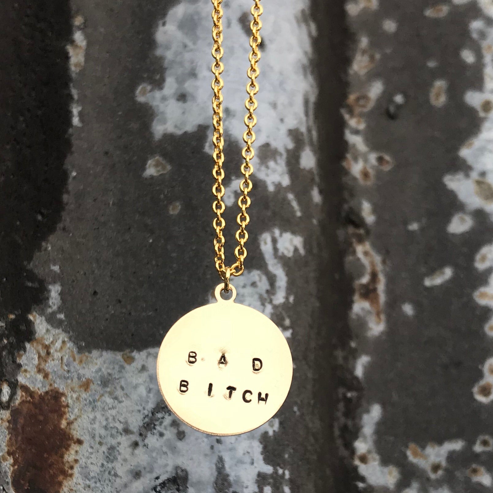 Bad Bitch Pendant