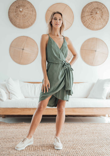 Runaway Wrap Dress