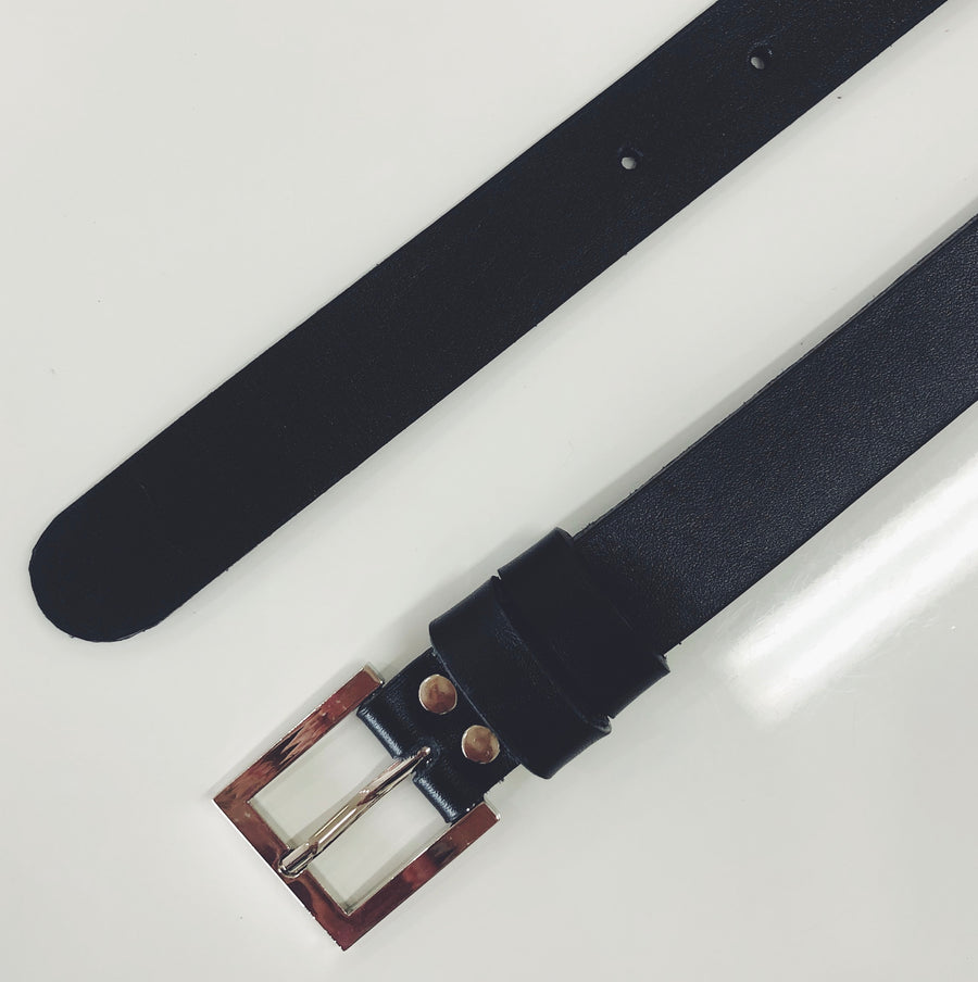 Basic B***h Leather Belt